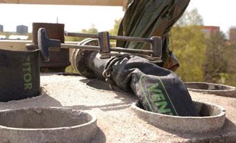 Minskad radonhalt genom kanaltätning med FuranFlex
